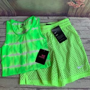 🆕 💚BUNDLE NIKE Shorts & 90 Degree Tank Top